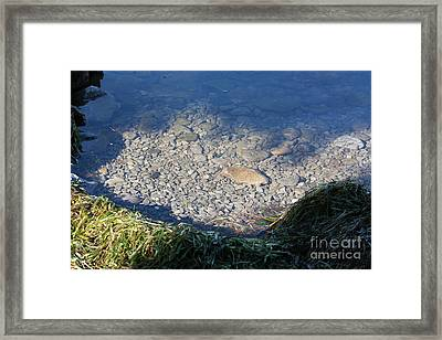 Peaceful Bay Framed Print