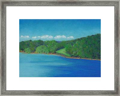 Peaceful Beginnings Framed Print