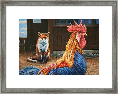 Peaceful Coexistence Framed Print