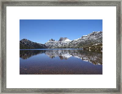 Peaceful Framed Print by David Powell