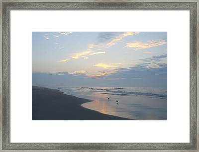 Peaceful Dawn Framed Print