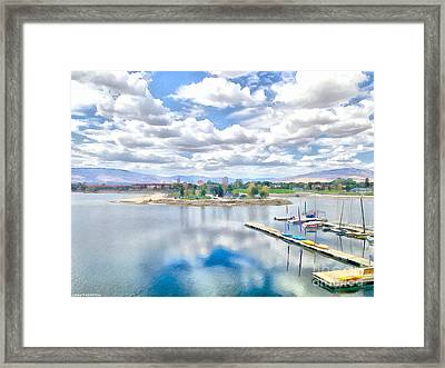 Peaceful Day Framed Print