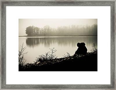 Peaceful Fog Framed Print