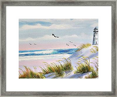 Peaceful Framed Print by Janet Moss
