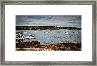 Peaceful   Journey Framed Print