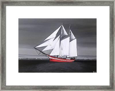 Peaceful Journey Framed Print by Rejeena Niaz