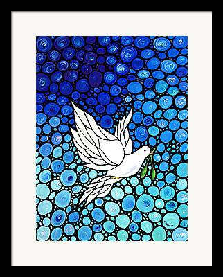 Dove Framed Prints
