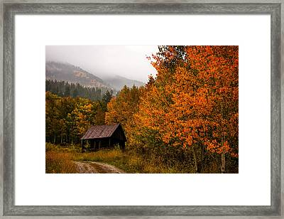 Framed Print featuring the photograph Peaceful by Ken Smith