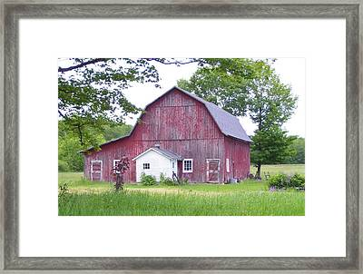 Peaceful  Framed Print by Kristine Bogdanovich