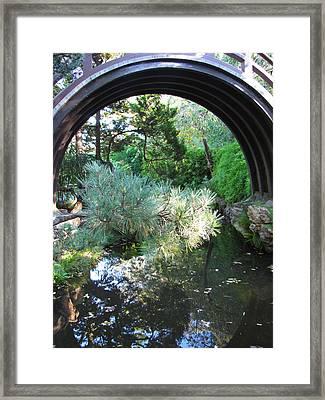 Peaceful Lagoon Framed Print
