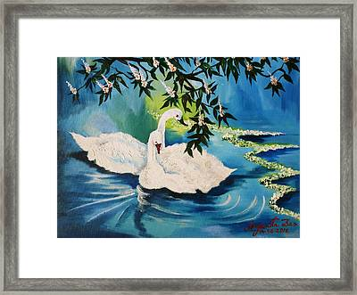 Peaceful Life Framed Print by Anjanita Das