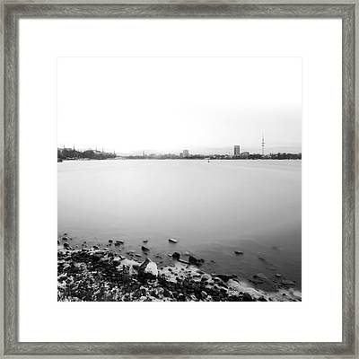 Peaceful Framed Print by Marc Huebner
