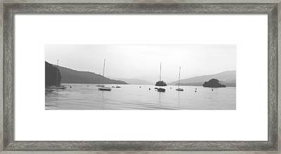 Peaceful Framed Print by Martin Newman