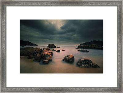 Peaceful Moment 3 Framed Print