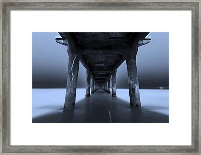 Peaceful Pacific Framed Print by Mihai Andritoiu