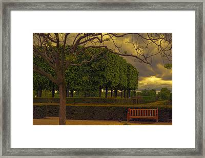 Peaceful Paris Framed Print