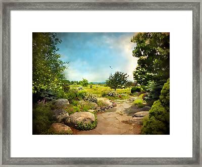 Peaceful Path Framed Print