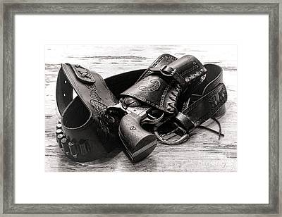 Peaceful Peacemaker Framed Print by Olivier Le Queinec