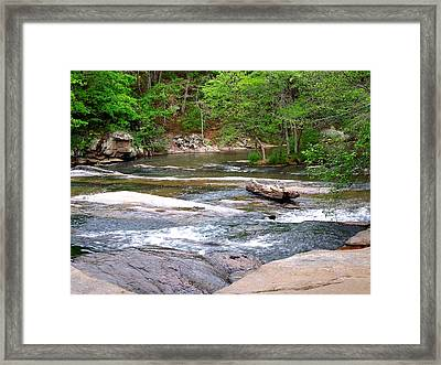 Peaceful Framed Print by Pete Trenholm