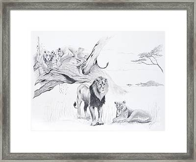 Peaceful Pride Framed Print