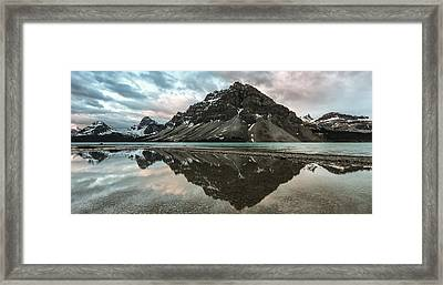 Peaceful Reflection Framed Print by Jon Glaser
