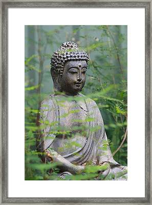 Framed Print featuring the photograph Peaceful Repose by Keith Hawley