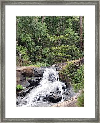 Peaceful Retreat Framed Print by Aaron Martens