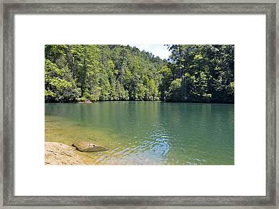 Peaceful Retreat Framed Print