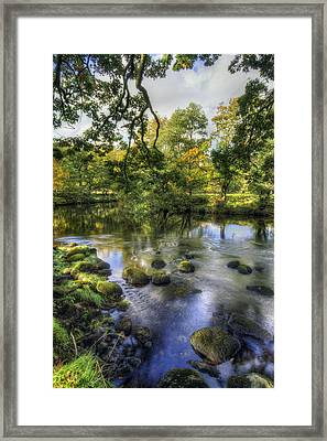 Peaceful River Framed Print by Ian Mitchell