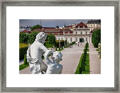 Peaceful Sculpture Framed Print by Viacheslav Savitskiy