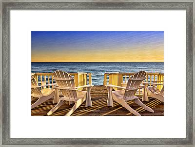 Peaceful Seclusion Framed Print