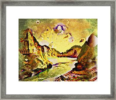 Peaceful Secret Framed Print