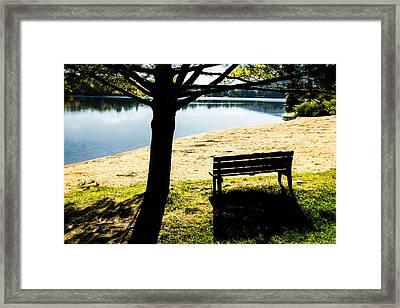 Peaceful Shadows Framed Print