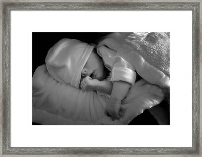 Peaceful Sleep Framed Print