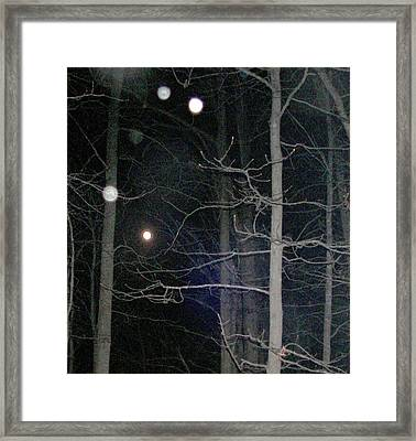 Framed Print featuring the photograph Peaceful Spirits Passing by Pamela Hyde Wilson