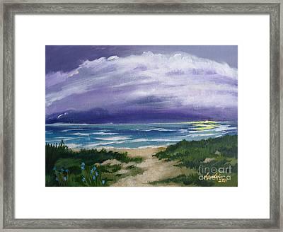 Peaceful Sunrise Framed Print by J Linder