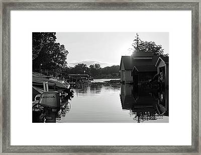 Peaceful Framed Print by Thomas Fouch