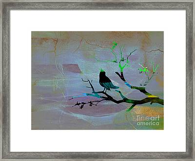 Peaceful Thoughts Framed Print by Marvin Blaine