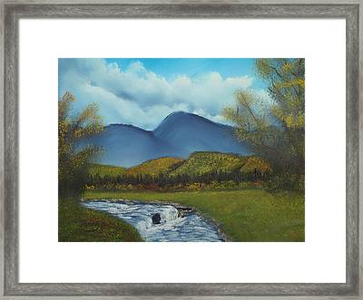 Peaceful Valley Framed Print by Henry Parker