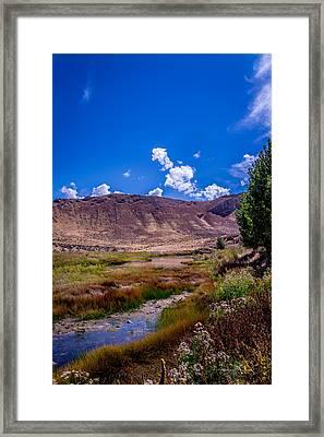 Peaceful Valley II Framed Print