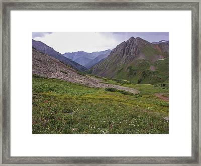 Peaceful Valley Framed Print by Julie Black