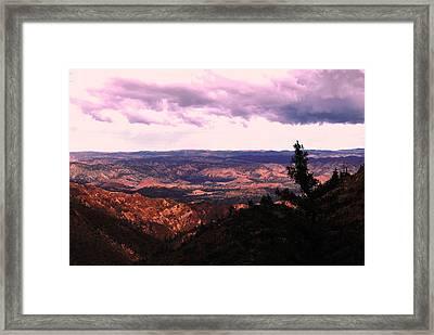 Peaceful Valley Framed Print by Matt Harang