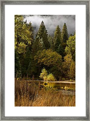 Peaceful Yosemite C6j8124 Framed Print