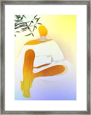 Peacefulchic Framed Print by Romaine Head