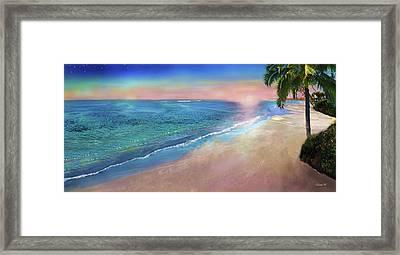 Peacefulness Of Sundown Framed Print