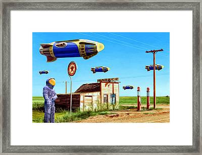 Peacekeepers Framed Print by Dominic Piperata