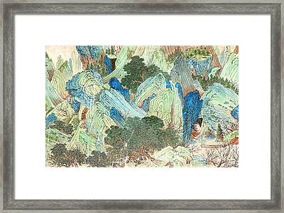 Peach Blossom Spring 2 Framed Print by Pg Reproductions