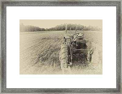 Framed Print featuring the photograph Peach Glen Pennsylvania by Tony Cooper