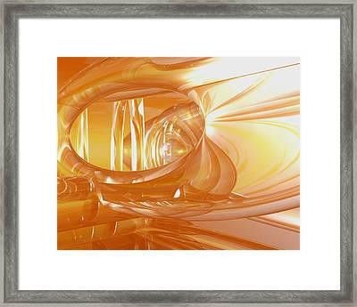 Peaches N' Cream Framed Print by Joshua Thompson