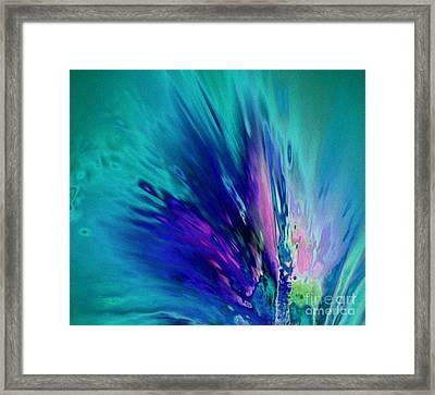 Peacock Paradise Framed Print by Tlynn Brentnall